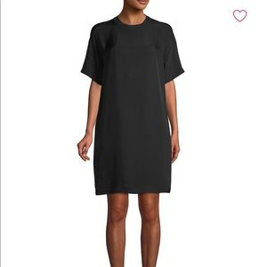 Vince short sleeve shift dress